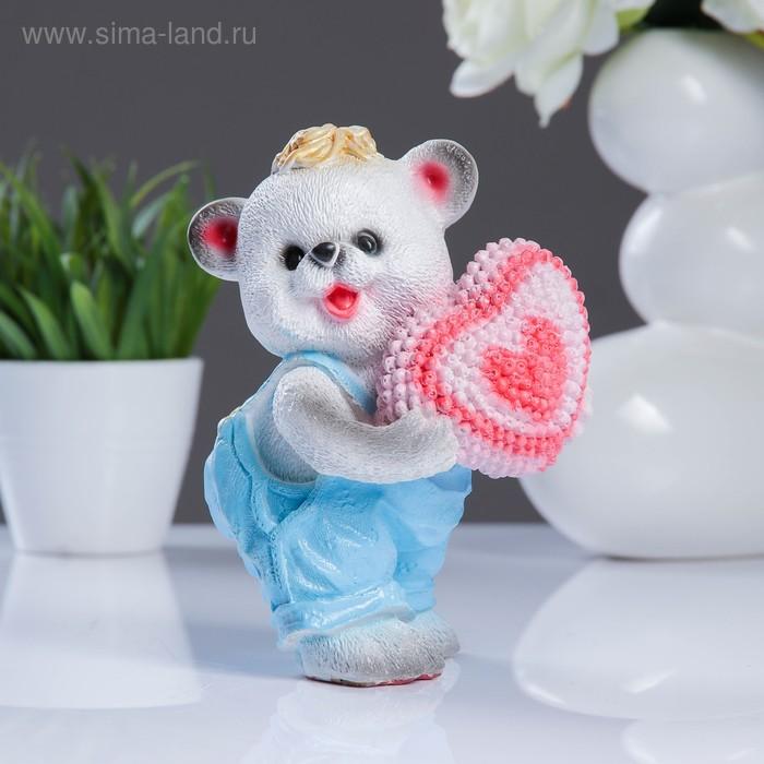 """Сувенир """"Мишка с сердечком"""""""