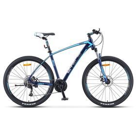 """Велосипед 27,5"""" Stels Navigator-760 MD, V010, цвет темно-синий, размер 19"""""""