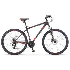 """Велосипед 29"""" Stels Navigator-900 D, F010, цвет черный/красный, размер 17,5"""""""