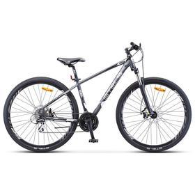 """Велосипед 29"""" Stels Navigator-950 MD, V010, цвет антрацитовый/серебристый/чёрный, размер 18,"""