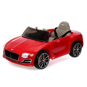 Электромобиль Bentley EXP 12 Speed 6e Concept, EVA колеса, кожаное сидение, цвет красный