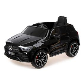 Электромобиль MERCEDES-BENZ GLE 450 4matic, EVA, кожаное сиденье, цвет чёрный глянец