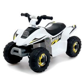 Детский электромобиль «Квадроцикл», цвет белый