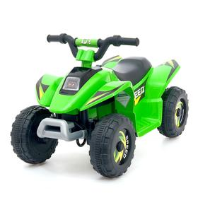 Электромобиль «Квадроцикл», цвет зелёный