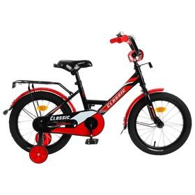"""Велосипед 16"""" Graffiti Classic, цвет черный/красный"""