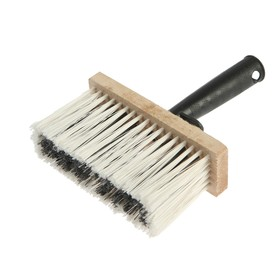 Bristle brush TUNDRA, synthetic bristles, plastic handle, 50 x 150 mm