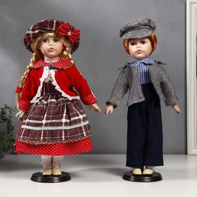 Collectible couple doll, set of 2 pieces