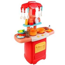 Кухня «Сказочный патруль» с водой и набором посуды, 62 см, световые и звуковые эффекты