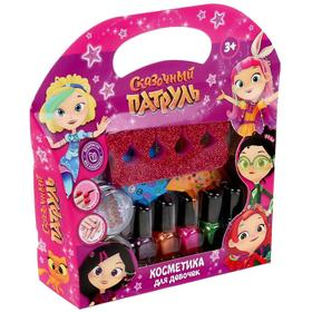 Косметика для девочек «Сказочный патруль», лак для ногтей, блёстки, разделитель