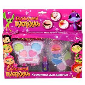 Косметика для девочек «Сказочный патруль», тени, блески для губ, помада