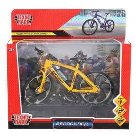 Велосипед металл, модель 17 см, цвет МИКС