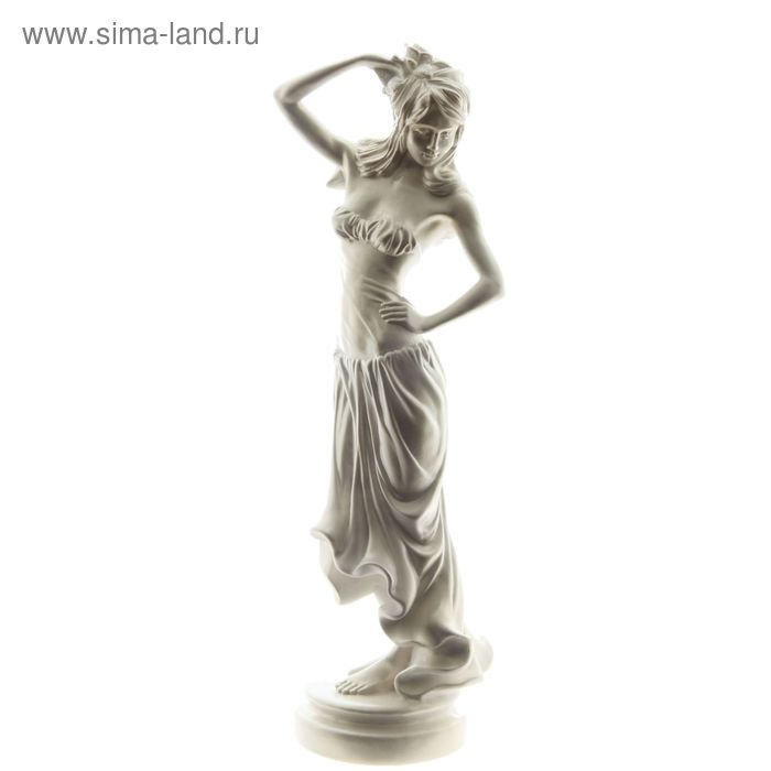 "Статуэтка ""Танцовщица римская"" перламутр"