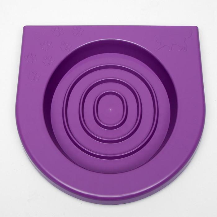 Туалет для приучения кошек к унитазу, фиолетовый - фото 165074