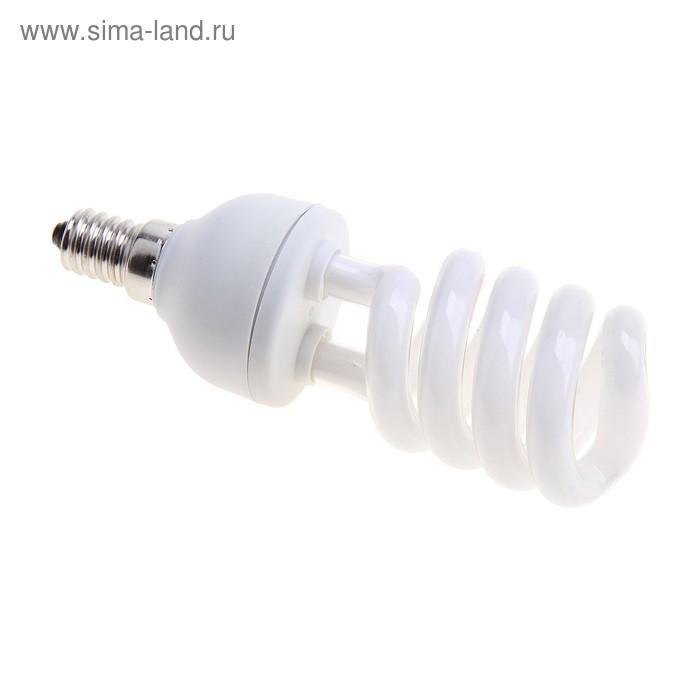 Лампа энергосберегающая люминесцентная SP 15W, E14, 4200K