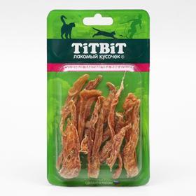 Филе TiTBiT куриное (соломка) для кошек, 22 г