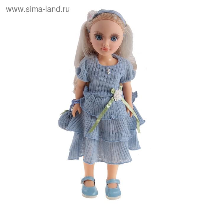 """Кукла """"Анастасия"""", голубой ажур, со звуковым устройством, 42 см"""