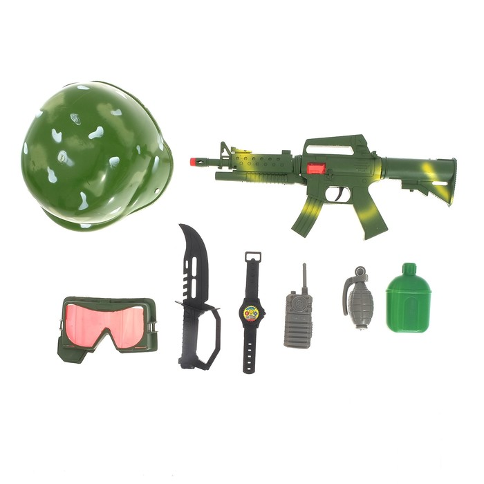 Набор военного «Боевая атака», 8 предметов