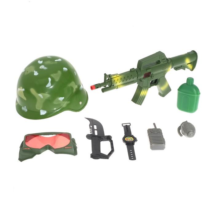 Набор военного «Боевая атака», 8 предметов - фото 105576451
