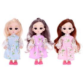 Кукла модная «Катя» в платье, МИКС