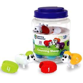 """Развивающая игрушка """"Разноцветные овечки"""" 20 элементов LER6712"""