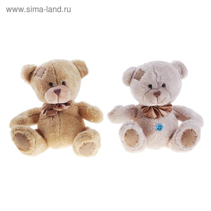 Мягкая игрушка «Медведь Берни» музыкальная, цвета МИКС