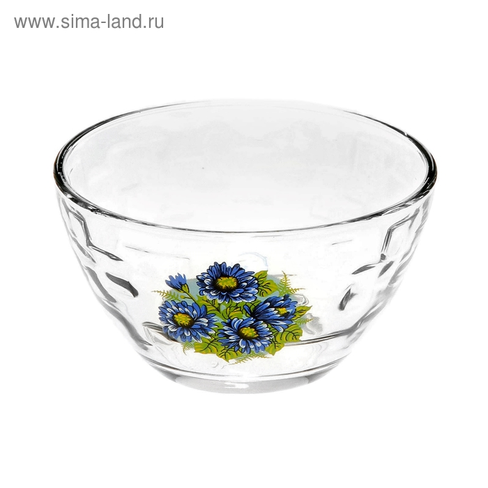 """Салатник 1,5 л """"Синяя хризантема"""", d=11 см"""