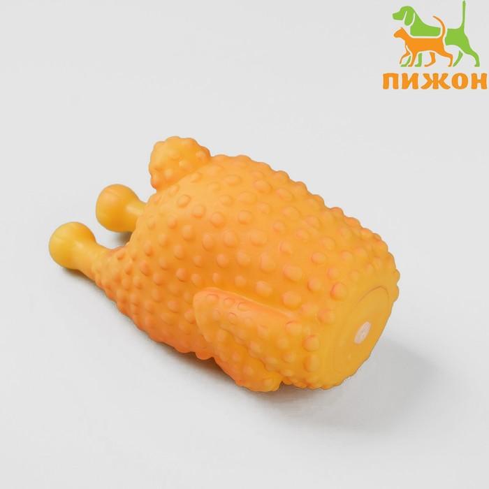 """Игрушка пищащая """"Курица гриль"""" для собак, 13,5 см"""