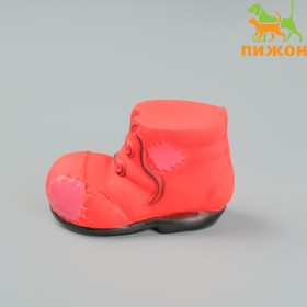"""Toy squeaking """"Shoe"""", 10.5 cm, mix colors"""