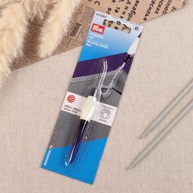 Игла для поднятия петель, 12 см, цвет фиолетовый