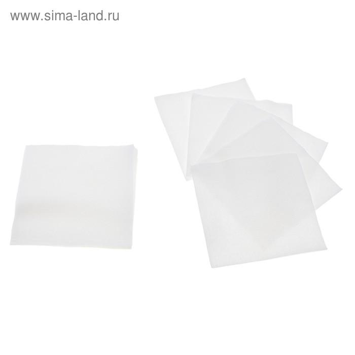 Салфетки Nega 90 листов 1 сл белые