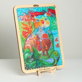 Пазл - картина из дерева «Илья муромец», 120 деталей