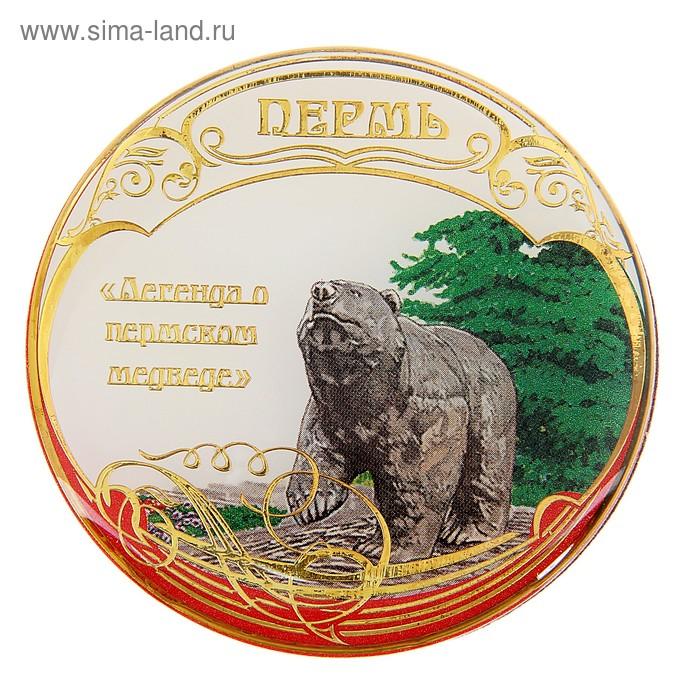 """Магнит """"Пермь. Пермский медведь"""""""