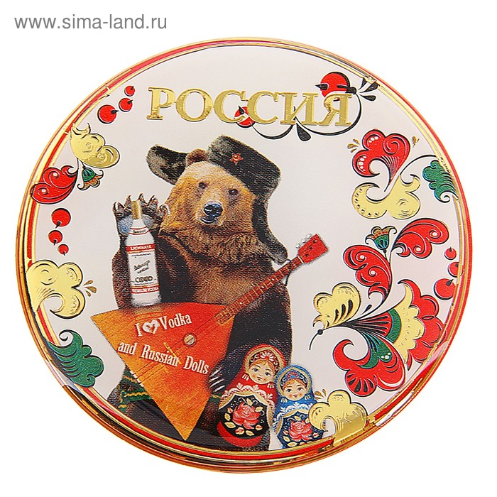 """Магнит """"Россия. Медведь"""""""