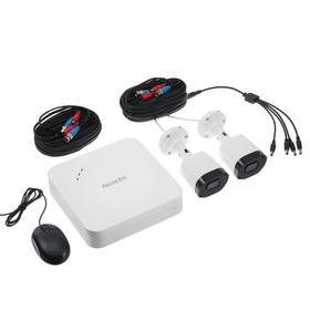Комплект видеонаблюдения Falcon Eye FE-104MHD KIT Light SMART, 2 уличные камеры, без HDD