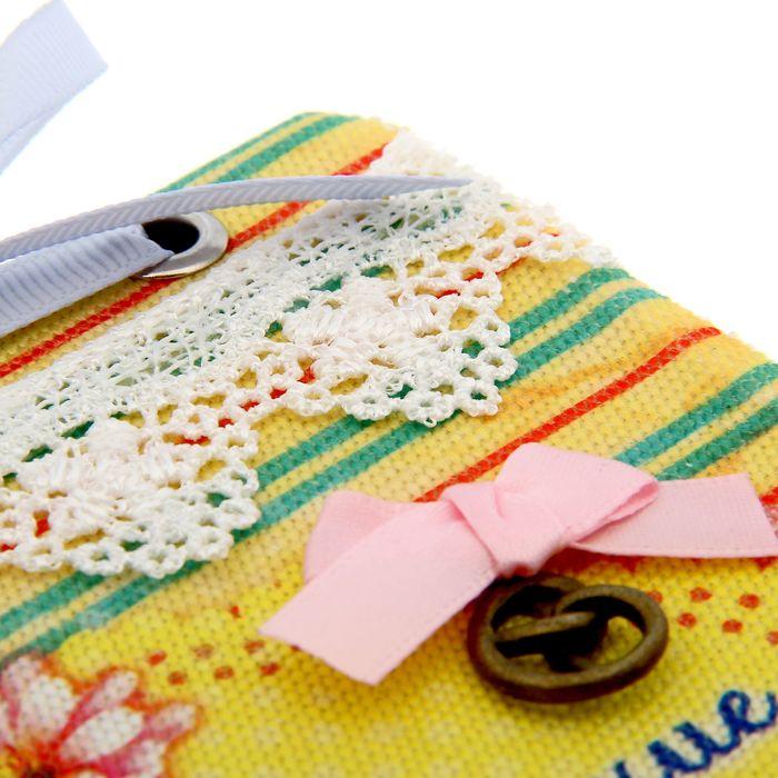 """Блокнот """"Маленькие приятности"""", 70 листов, ручная работа - фото 366911493"""