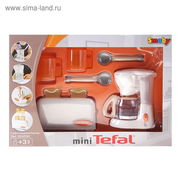Набор тостер и кофеварка Tefal