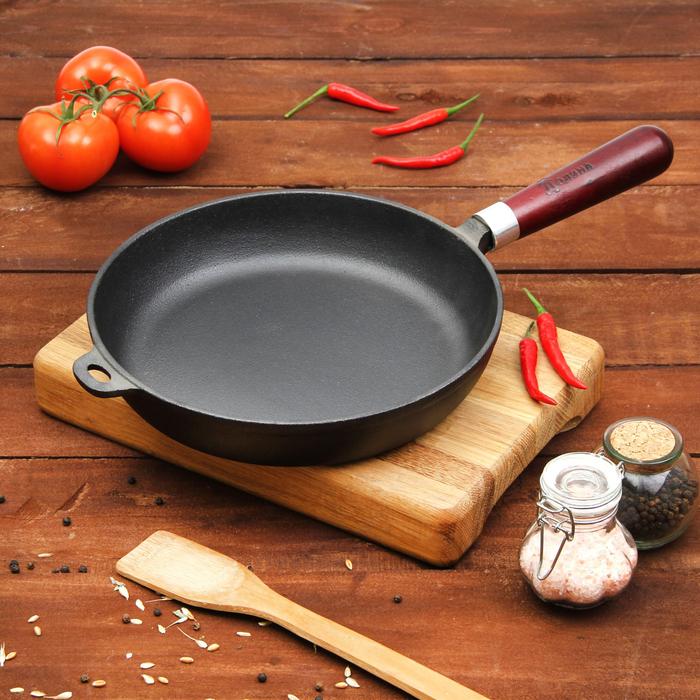 Сковорода чугунная 24 см
