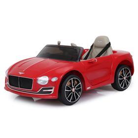 Электромобиль Bentley EXP 12 Speed 6e Concept, EVA колёса, кожаное сиденье, уценка (порвано сиденье, внешние дефекты)