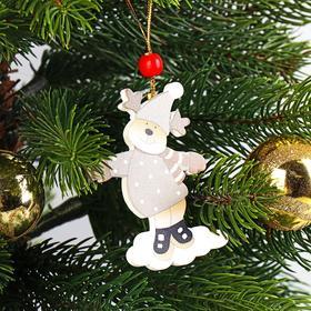 Подвеска новогодняя «Весело играем», золотая нить, МИКС