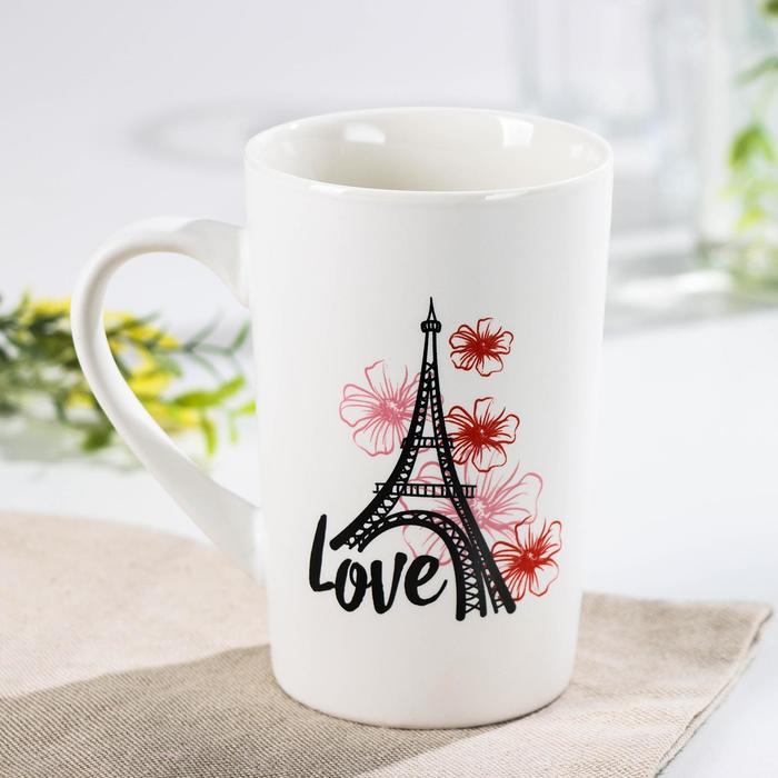Кружка Доляна «Любовь в париже», 380 мл