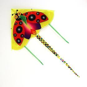 Воздушный змей «Насекомые», с леской, виды МИКС