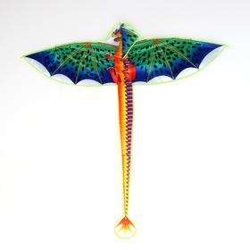 Dragon kite with fishing line, MIX colors