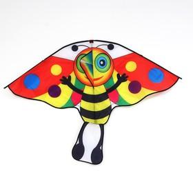 Воздушный змей «Пчёлка», с леской, цвета МИКС