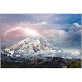 Алмазная мозаика «Великолепие гор» 40×60 см, 39 цветов
