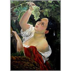 Алмазная мозаика «Итальянский полдень» 50×70 см, 45 цветов
