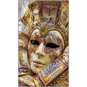 Алмазная мозаика «Вольто» 35×60 см, 40 цветов