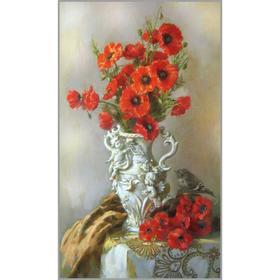 Алмазная мозаика «Изящество» 35×60 см, 41 цветов