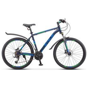 """Велосипед 26"""" Stels Navigator-645 D, V010, цвет темно-синий, размер 17"""""""