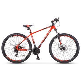 """Велосипед 29"""" Stels Navigator-930 MD, V010, цвет неоновый красный/чёрный, размер 16,5"""""""