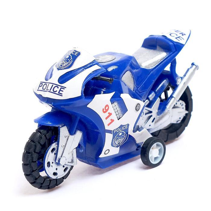 Мотоцикл инерционный «Супербайк», МИКС - фото 106985193